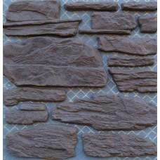 Искусственный камень Арден шоколадный