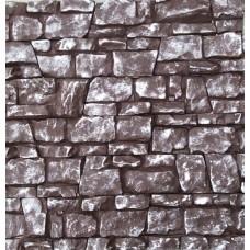 Искусственный камень Арт-е-факт шоколад+серебро