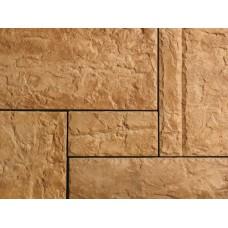 Искусственный камень Базальт коричневый