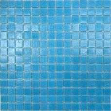 Мозаика A32 (327*327*4мм) темно-голубая