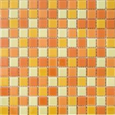 Мозаика CB002 (327*327*4мм) желто-оранжевый