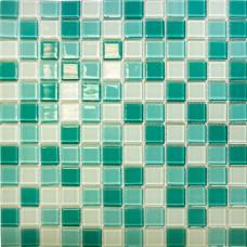 Мозаика CB401 (327*327*4мм) бирюзовый микс