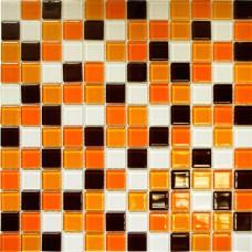 Мозаика CB806 (327*327*4мм) рыже -коричневая