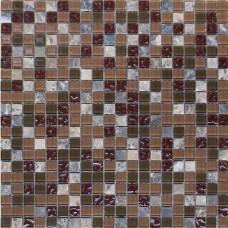 Мозаика HK-49 (327*327*4мм) сливовый микс