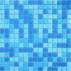 Мозаика MC107 (327*327*4мм) голубая
