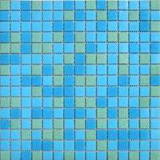 Мозаика MCD003 (327*327*4мм) сине-зеленый
