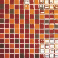 Мозаика R 1361 (327*327*4мм) кофейно-карамельный