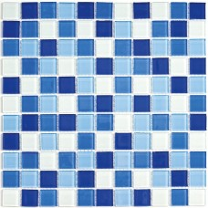 Мозайка (300*300) Blue wave-3