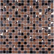 Мозайка (300*300) Crystal brown