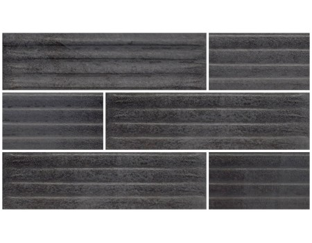 Bazalto Grafit C Плитка фасадная 30х8,1х1,1