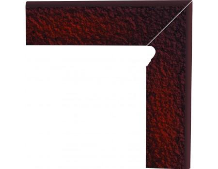 Cloud Brown Duro Цоколь правый структурный 2-х элем 30х8,1