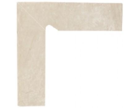 Cotto Crema Цоколь левый 2-х элем 30x8,1x1,1