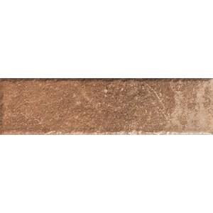 Scandiano Rosso Плитка фасадная структурная 24,5х6,6