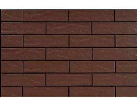 Braz/Brown 9690 Фасадная плитка 24,5х6,5х0,65 Rustic/структурная