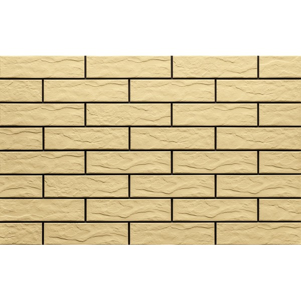 Piaskowa/Sandy 9676 Фасадная плитка 24,5х6,5х0,65 Rustic/структурная