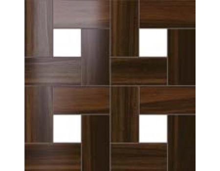 Aston Wood Mahogany Mosaic Lap 45*45 / Астон Вуд Махогани Мозаика Лаппато 45*45