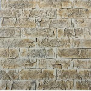 Искусственный камень Оберон светло-соломенный