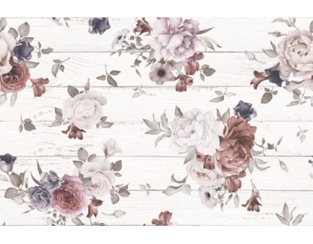 Шебби Шик Декор-панно 400*600 белое  1606-0006