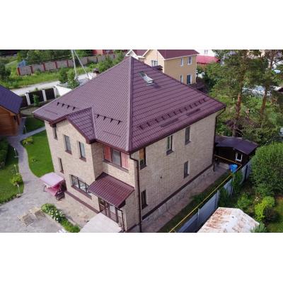 """Термопанели ТПК """"ЕВРОФАСАД"""" облицовка фасада частного дома"""