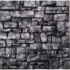 Искусственный камень Арт-е-факт черный+серебро