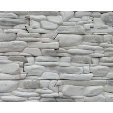 Искусственный камень Речной 11 белый