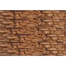 Искусственный камень Речной 11 коричневый