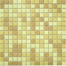 Мозаика МС103Р (327*327*4мм) песочный микс на бумаге