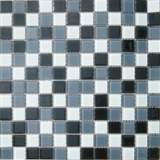 Мозаика CB005 (327*327*4мм) черно-белый