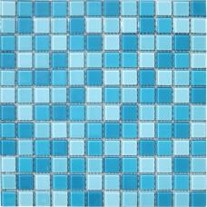 Мозаика CB301 (327*327*4мм) бело-голубой