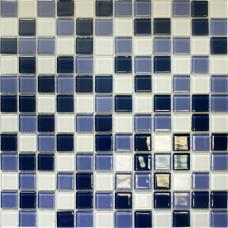 Мозаика CB324 (327*327*4мм) ультрамариновый микс