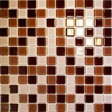 Мозаика CB513 (327*327*4мм) шоколадный микс