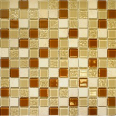 Мозаика CTB 53 (327*327*4мм) карамельный микс