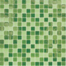Мозаика MC109 (327*327*4мм) зеленый микс