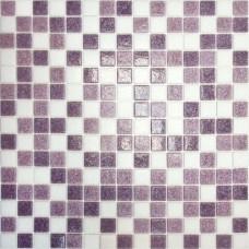 Мозаика MC110 (327*327*4мм) бело-сиреневый