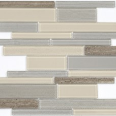 Мозаика N54 (286*298*4мм) песочно-серый long size