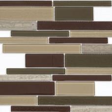 Мозаика N56 (286*298*4мм) бургундский long size