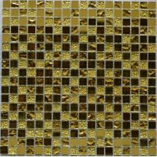 Мозайка (300*300) Mirror gold