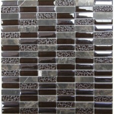Мозайка (300*300) Super Line (brown)