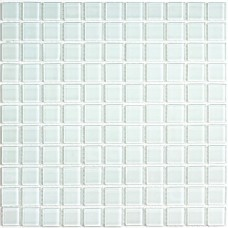 Мозайка (300*300) White glass