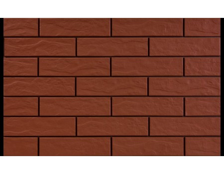 Burgund 9577 Фасадная плитка 24,5х6,5х0,65 Rustic/структурная