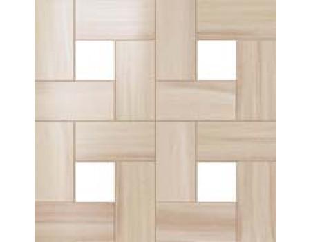 Aston Wood Bamboo Mosaic Lap 45*45 / Астон Вуд Бамбу Мозаика Лаппато 45*45