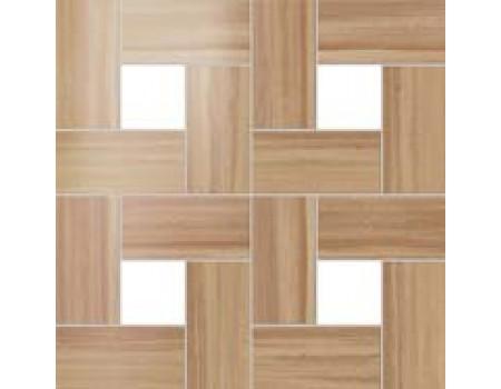 Aston Wood Iroko Mosaic Lap 45*45 / Астон Вуд Ироко Мозаика Лаппато 45*45