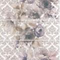 Панно Город на воде Цветы, 3 части 250х750, обрезной (Размеркаждой части) MLD\A75\3x\12106R